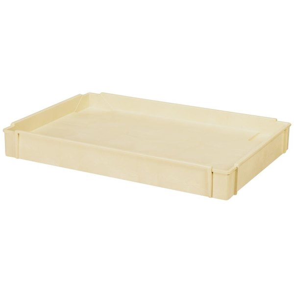 Continental 5801BE Beige Mid Shelf for 5800 Utility Cart Main Image 1