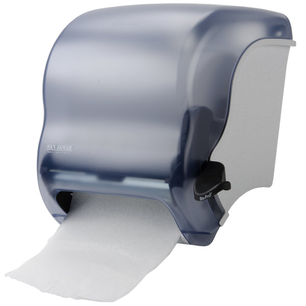 San Jamar T950TBL Element Roll Towel Dispenser - Arctic Blue Main Image 10