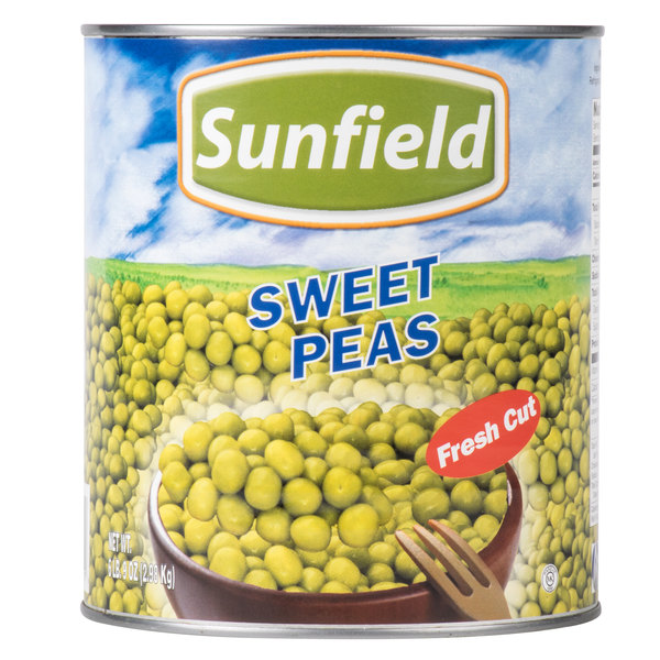 Sweet Peas - #10 Can - 6/Case