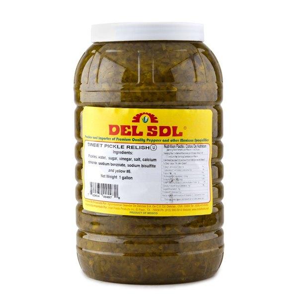 Del Sol 1 Gallon Pickle Relish