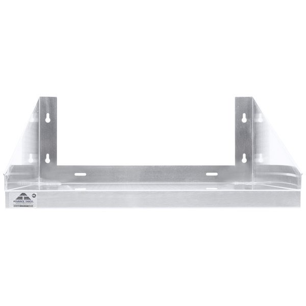 "Advance Tabco MS-24-24 24"" x 24"" Stainless Steel Microwave Shelf"