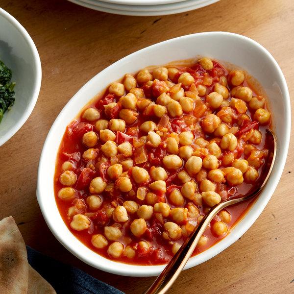 Bella Vista #10 Can Fancy Chick Peas (Garbanzo Beans) - 6/Case Main Image 2
