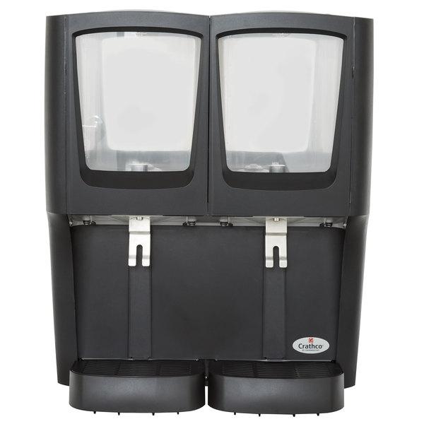 Crathco G-Cool C-2D-16 Double 5 Gallon Bowl Premix Cold Beverage Dispenser