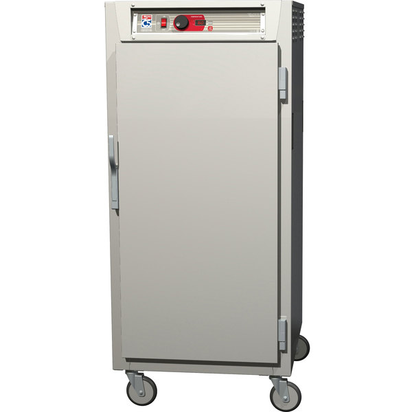 Metro C587-NFS-L C5 8 Series Reach-In Heated Holding Cabinet - Solid Door