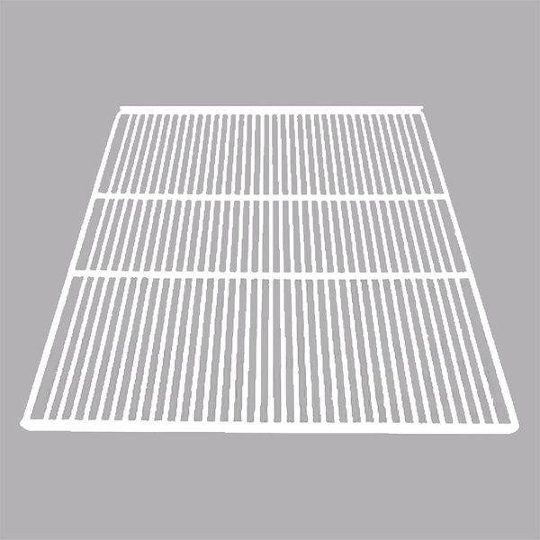 """True 892612 White Coated Wire Shelf with Shelf Clips - 23 1/2"""" x 28 13/16"""""""