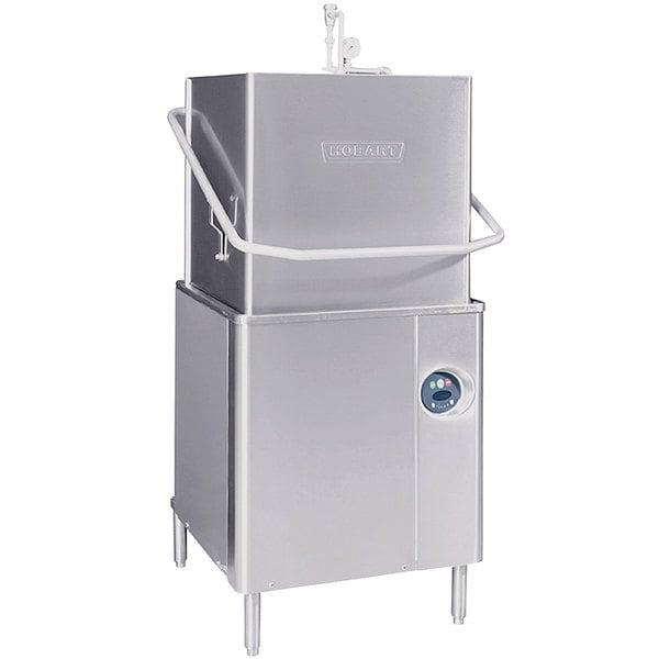 Hobart AM-15-5 Select Single Rack High Temperature/Low Temperature Straight/Corner Dishwasher - 208/240V
