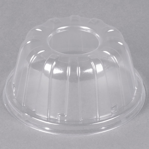 Dart 20HDLC Clear High Dome Lid - 50/Pack Main Image 1