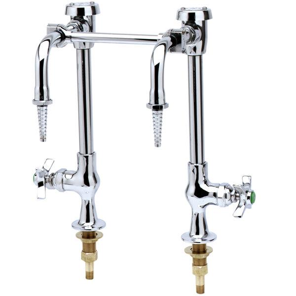 "T&S BL-5707-03 6"" Center Combination Science Table Faucet"