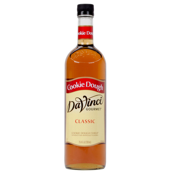 DaVinci Gourmet 750 mL Cookie Dough Classic Coffee Flavoring Syrup