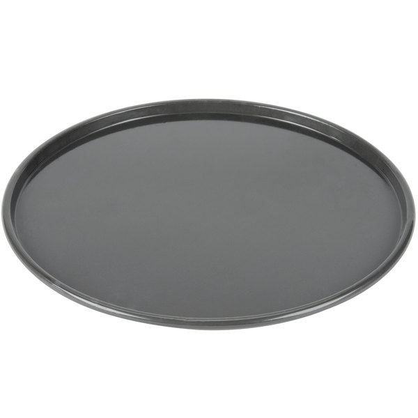 "Chicago Metallic 49140 Hard Coat Anodized Aluminum Customizable Pizza Pan - 14"" x 1/2"""