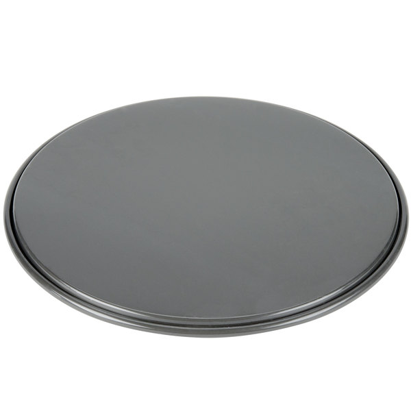 Round Pan Iron Blue Tin Metal bluita crumpet Pizza Electric Wood