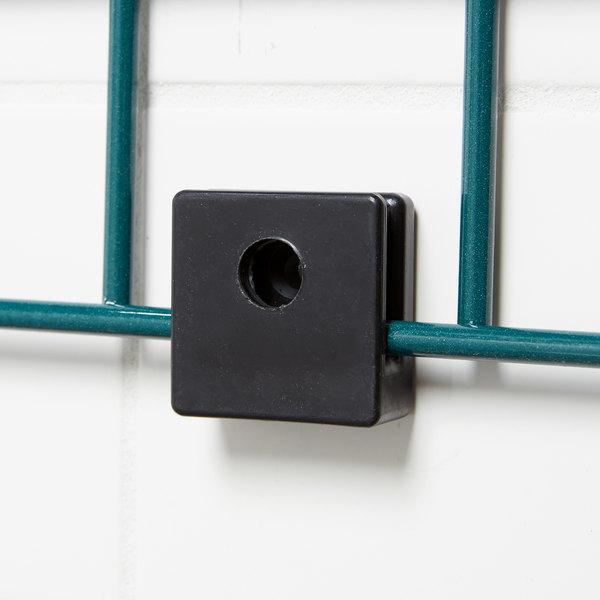 Metro WGBRKT Smartwall G3 Black Plastic Grid Mounting Bracket Kit for Wall