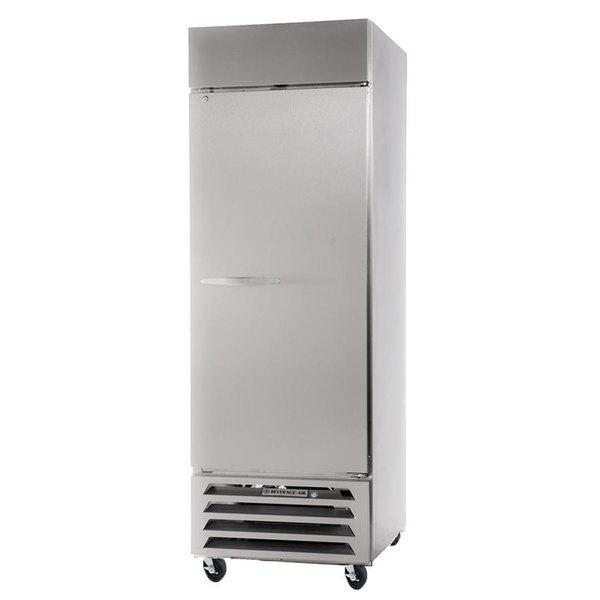 "Beverage-Air HBR27-1-S Horizon Series 30"" Bottom Mounted Solid Door Reach-In Refrigerator"
