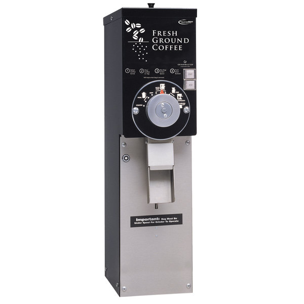 grindmaster 890t black slimline 5 lb coffee grinder 120v rh webstaurantstore com Basic Electrical Schematic Diagrams Residential Electrical Wiring Diagrams