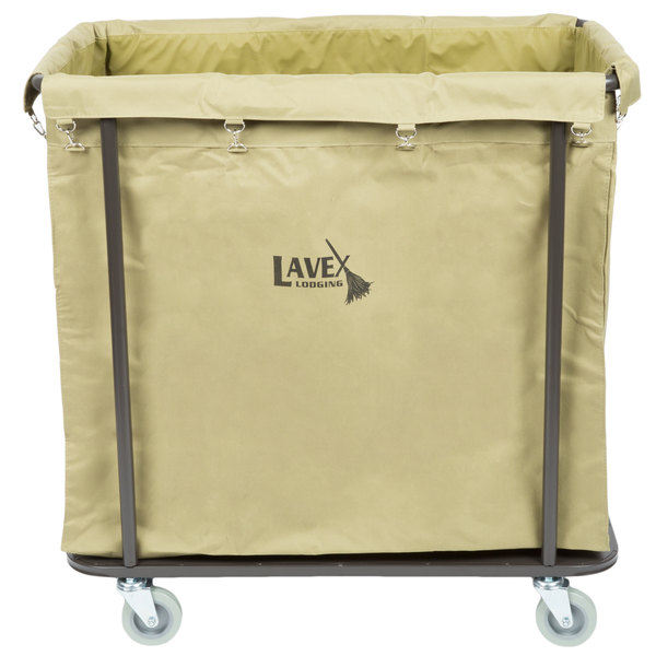 Perfect For Hotels Motels Nursing Homes And More This Rolling Laundry Cart Features A Heavy Duty Canvas Bag That Can Support Large Amounts Of Trash Or