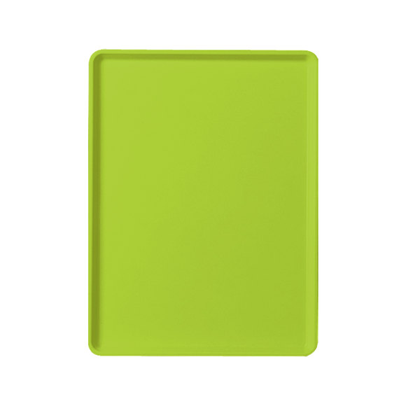 "Cambro 1220D429 12"" x 20"" Key Lime Dietary Tray - 12/Case"