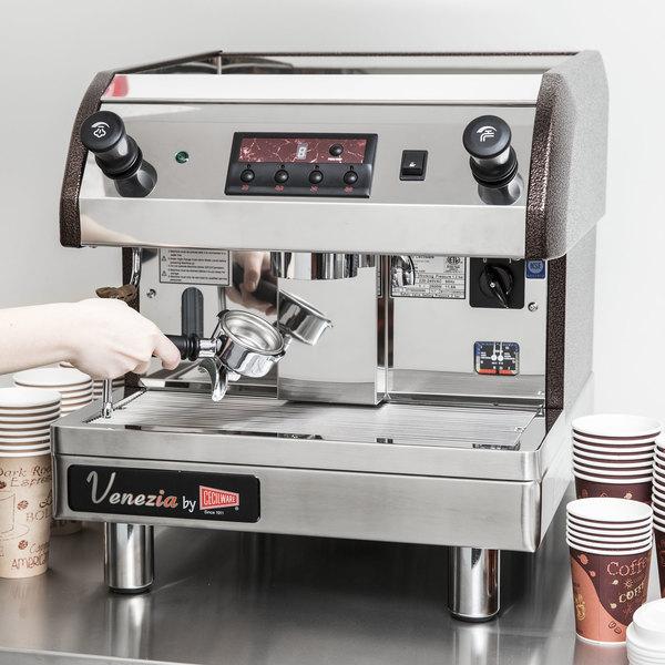 Cecilware Esp1 220v Venezia Ii One Group Espresso Machine 240v