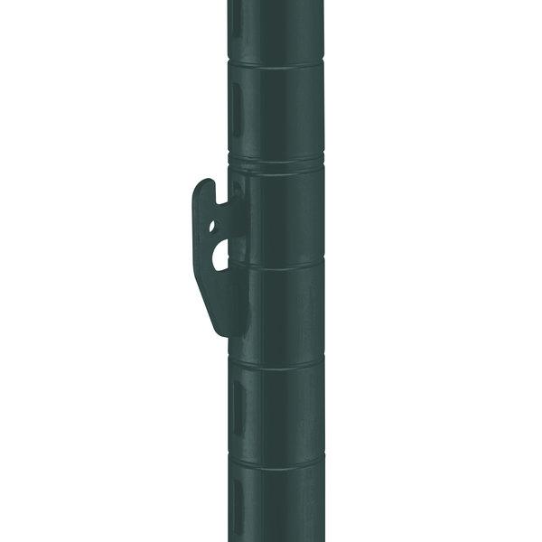 "Metro 33UPQ-DSG qwikSLOT Smoked Glass Mobile Post - 33 7/8"""