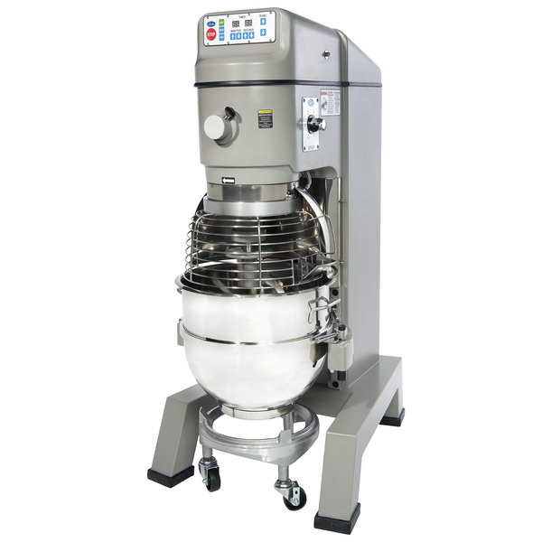 Globe SP62P Gear Driven 60 Qt. Commercial Planetary Floor Pizza Mixer - 208V, 3 Phase, 3 hp Main Image 1