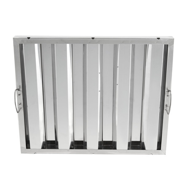 "Regency 16"" x 20"" x 2"" Stainless Steel Hood Filter"
