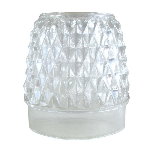 Sterno Products 85370 Diamond Point Table Lamp Globe