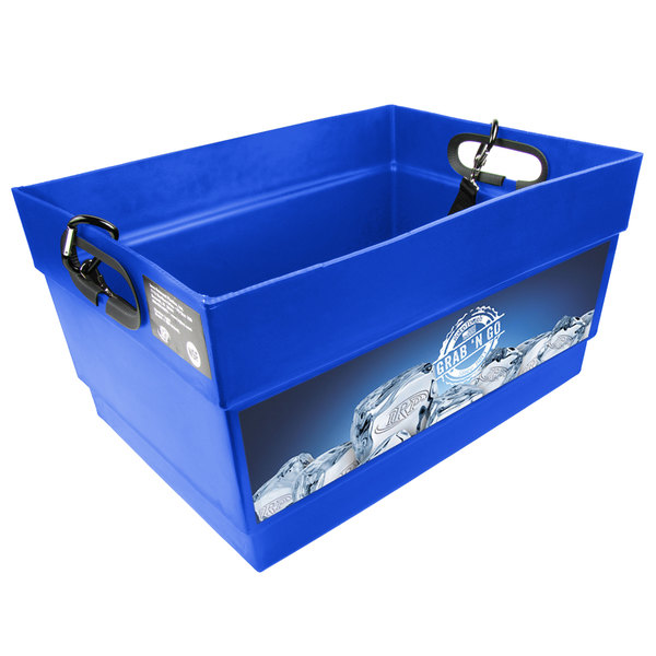 IRP 1015 Blue Light Hawker Beverage Merchandiser with Harness