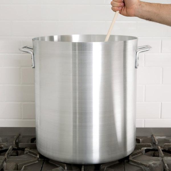 60 Qt. Standard Weight Aluminum Stock Pot