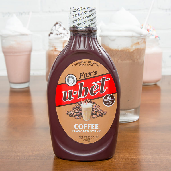 Fox's U-Bet Coffee Flavored Syrup