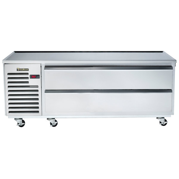 """Traulsen TE048HT 2 Drawer 48"""" Refrigerated Chef Base - Specification Line"""