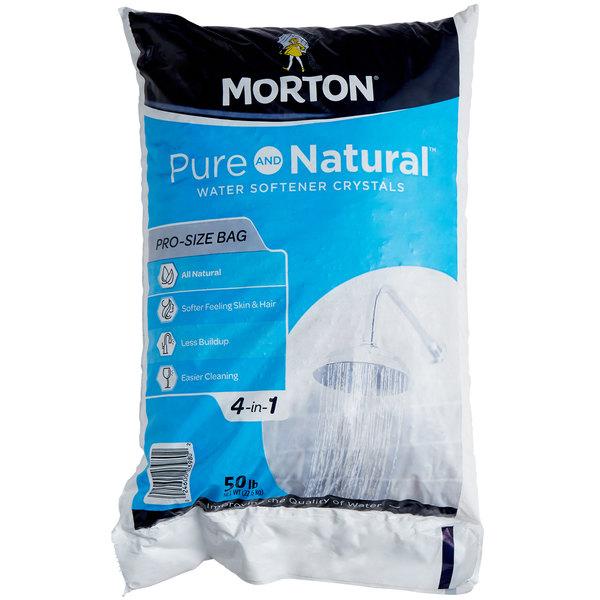 Morton Pure and Natural™ 50 lb Water Softening Crystals