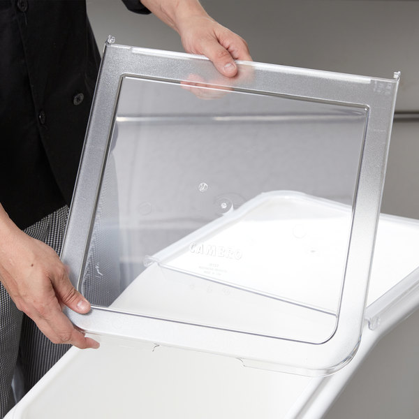 Cambro 60271 Lid Front Section for IBS27 Ingredient Bin Main Image 6