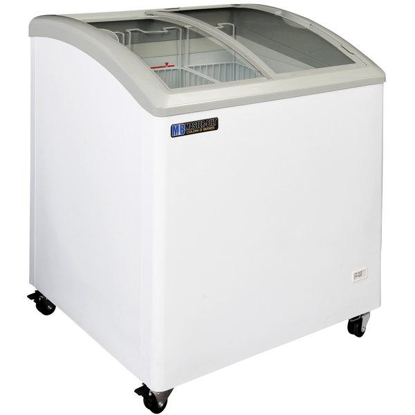 Master-Bilt Coldin-3 MSC-31A Curved Lid Display Freezer - 6 cu. ft.
