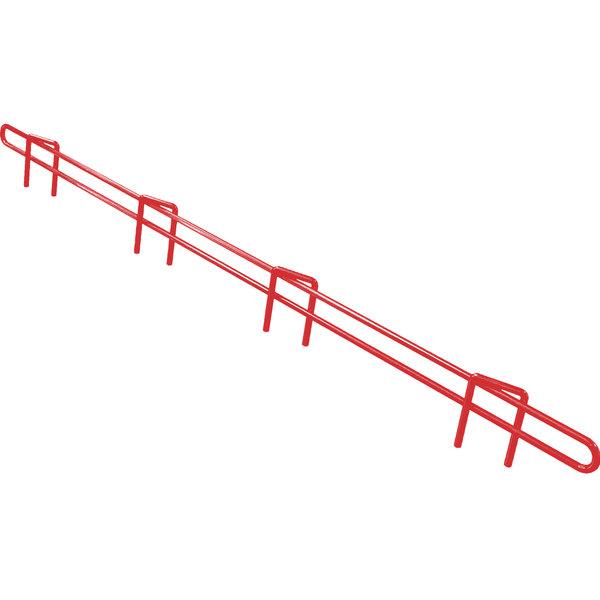 "Metro L21N-1-DF Super Erecta Flame Red Ledge 21"" x 1"""