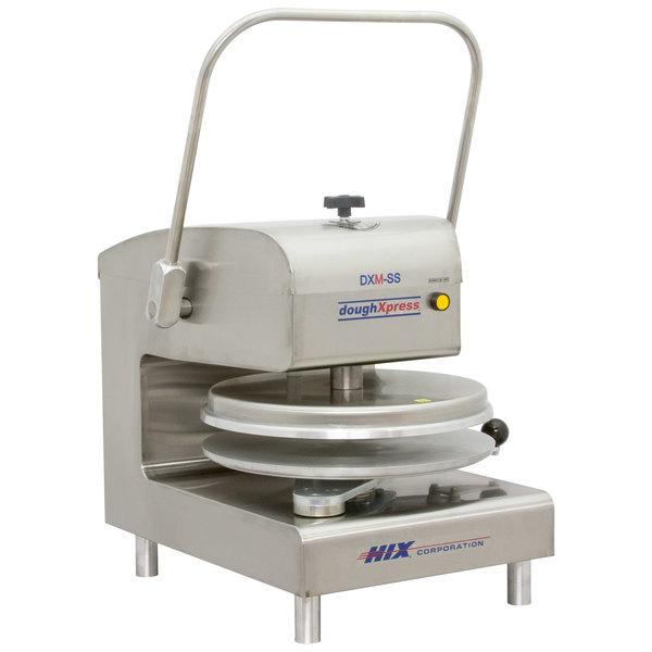 "DoughXpress DXM-SS Manual Pizza Dough Press 18"""