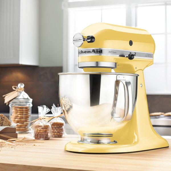 Superieur KitchenAid KSM150PSMY Majestic Yellow Artisan Series 5 Qt. Countertop Mixer