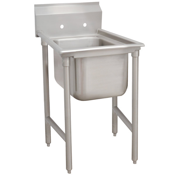 """Advance Tabco 93-21-20 Regaline One Compartment Stainless Steel Sink - 29"""""""