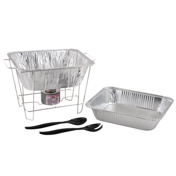 1/2 Size Disposable Wire Chafer Stand Kit