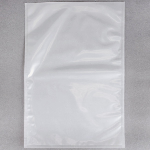 """ARY VacMaster 30759 14"""" x 20"""" Chamber Vacuum Packaging Pouches / Bags 4 Mil - 500/Case"""