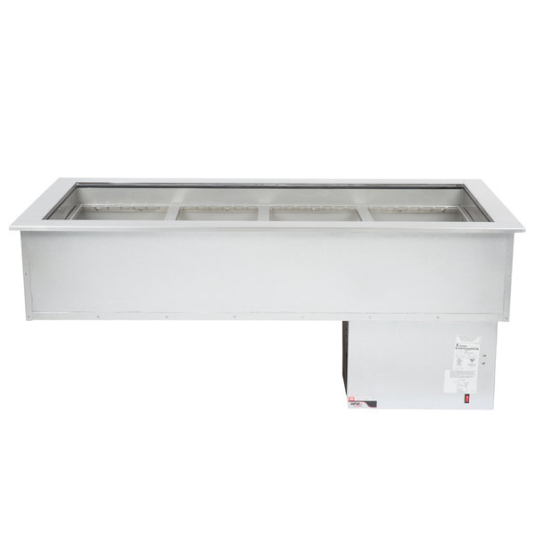 APW Wyott CW-4 4 Pan Drop In Refrigerated Cold Food Well 120V