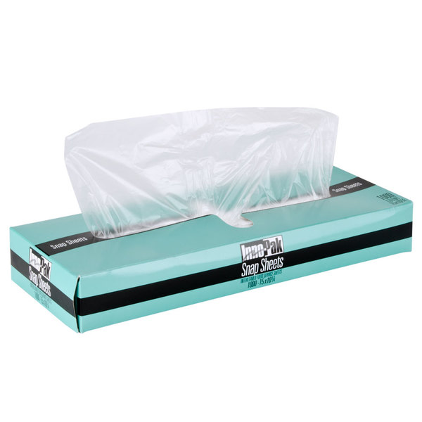 "15"" X 10 3/4"" Plastic Deli Wrap and Bakery Wrap"