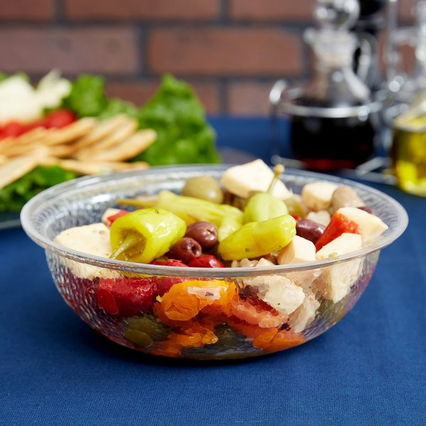 Carlisle SB6807 1 Qt. Pebbled Serving/Salad Bowl