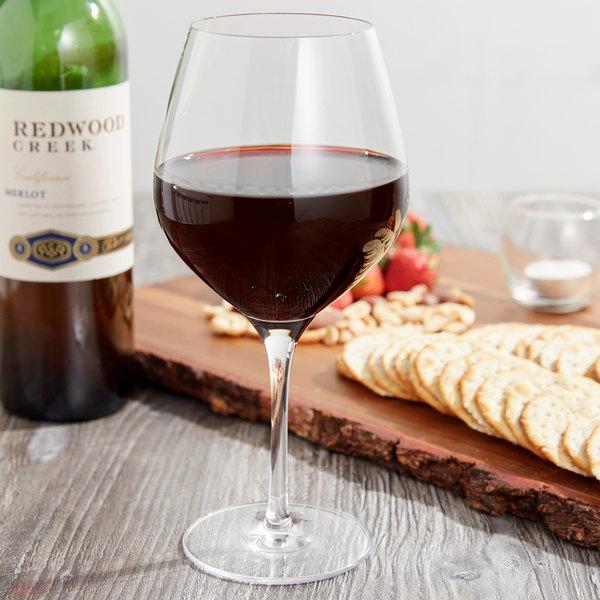 Stolzle 1470000T Exquisit 22 oz. Burgundy Wine Glass - 6/Pack Main Image 6
