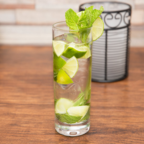 Stolzle 3500013T New York 10.75 oz. Collins / Mojito Glass - 6/Pack
