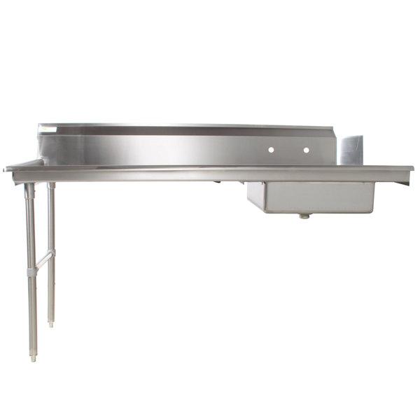 Regency 16 Gauge 6' Soiled / Dirty Dish Table