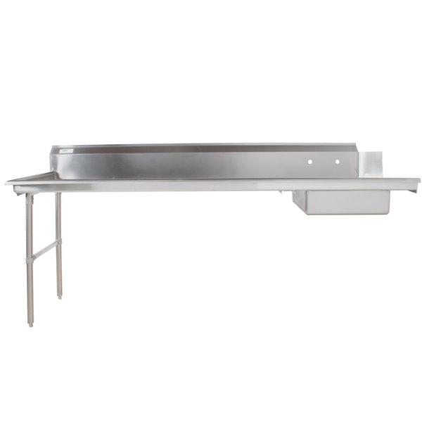 Regency 16 Gauge 8' Soiled / Dirty Dish Table