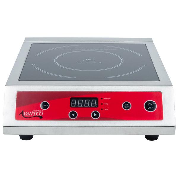 Avantco IC3500 Countertop Induction Range / Cooker - 208/240V, 3500W