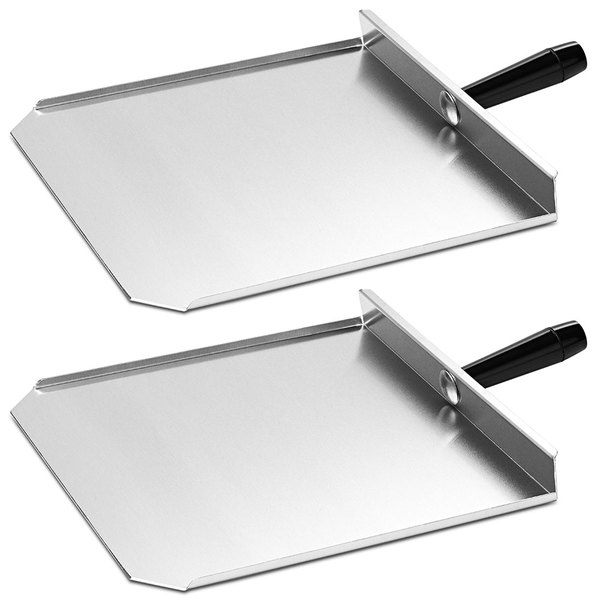"""Merrychef 400P-2 13"""" Stainless Steel Paddles for Merrychef eikon e4 and e6 Series Ovens - 2/Pack"""