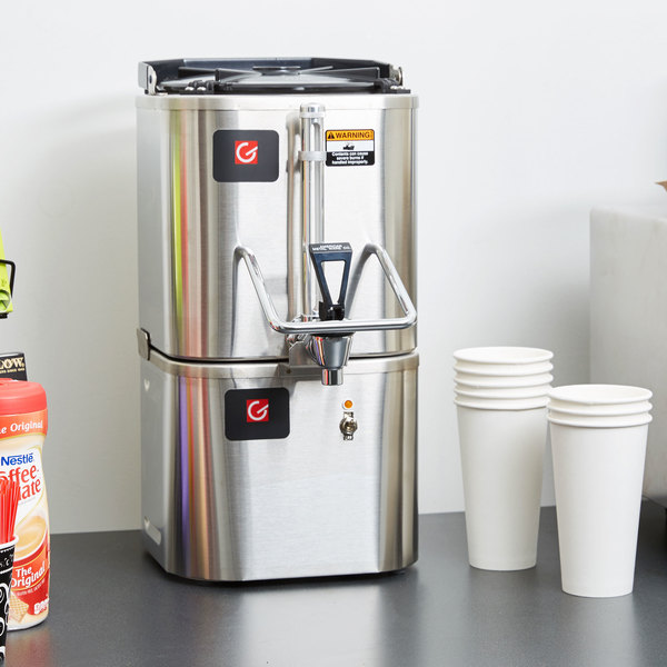 Grindmaster CS-LL/CW-1 1.5 Gallon Stainless Steel Coffee Shuttle and Warmer - 120V Main Image 11