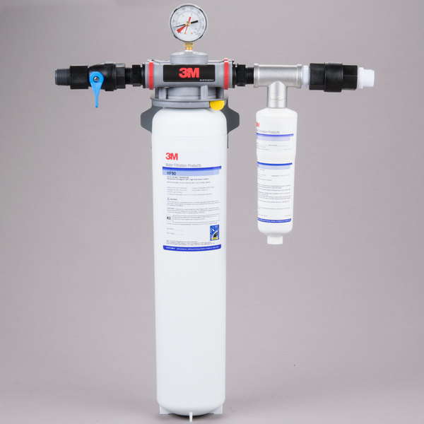 3M Water Filtration Products DP190 Dual Port Water Filtration System - .2 Micron Rating and 5.0 GPM