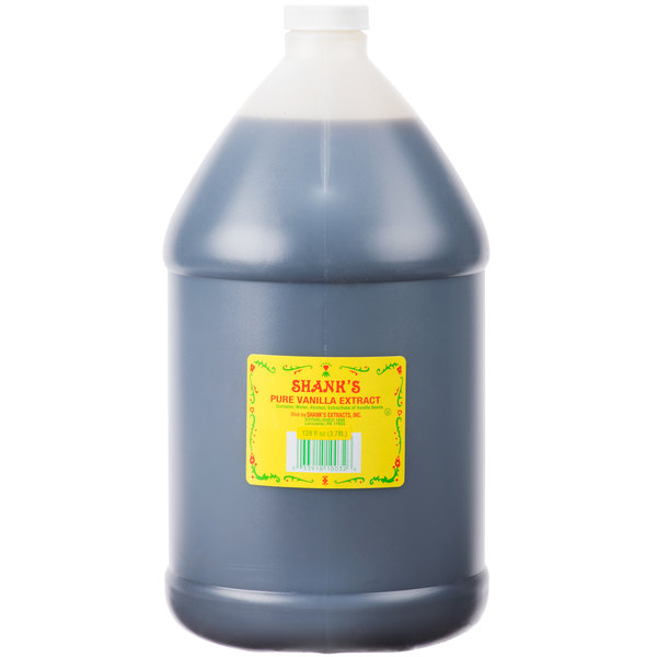 Shank's Premium 1 Gallon Pure Vanilla Extract